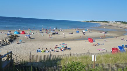 Dennis Cape Cod vacation rental - Corporation Beach just a 1/2 mile away