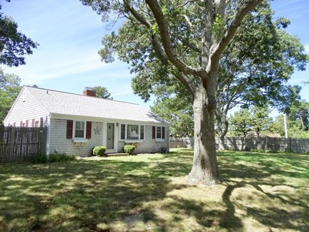 South Yarmouth Cape Cod vacation rental - Large private yard, plenty of space for games