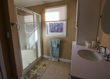 Eastham Cape Cod vacation rental - Master bath has a shower.