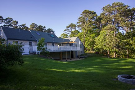 Eastham Cape Cod vacation rental - A great green lawn for volleyball, wiffleball, croquet, frisbee.