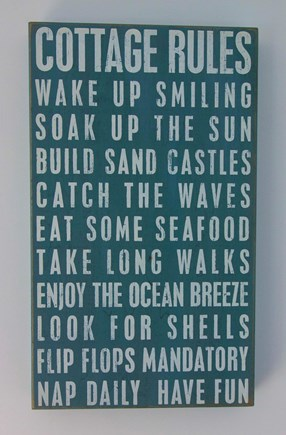 Eastham Cape Cod vacation rental - There are rules to follow....