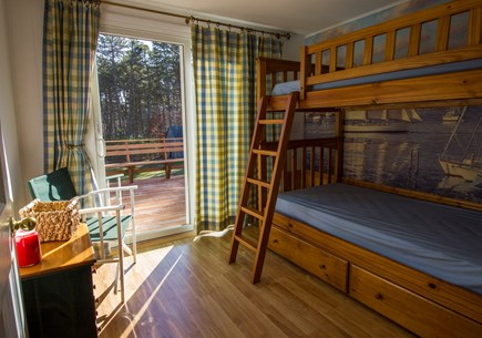 Eastham Cape Cod vacation rental - The fourth bedroom has bunk beds and is on main level near mbr.