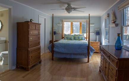 Eastham Cape Cod vacation rental - Master bedroom suite has a queen bed.