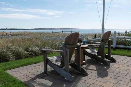 Hyannis Cape Cod vacation rental - Back yard overlooking beach