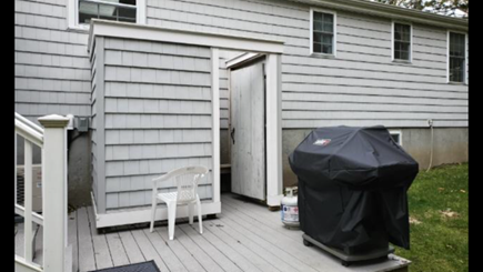Mashpee, Popponesset Cape Cod vacation rental - Enjoy the outdoor shower after a long day at the beach