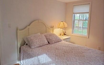 Popponesset Cape Cod vacation rental - Queen size bed with dresser and closet
