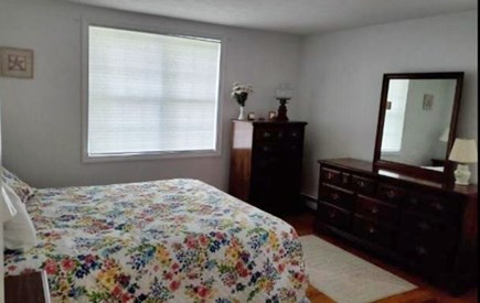 Mashpee, Popponesset Cape Cod vacation rental - Queen size bed with dresser and chest and large closet