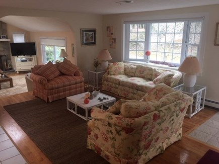 Mashpee, Popponesset Cape Cod vacation rental - Relax in the sitting area off the kitchen with large bay window