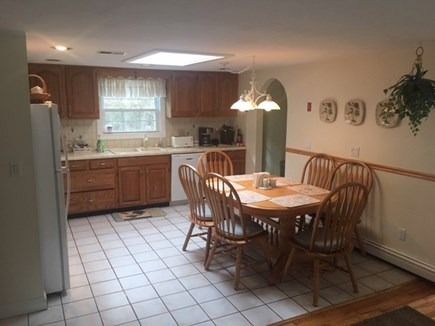Mashpee, Popponesset Cape Cod vacation rental - Eat in kitchen with seating for six
