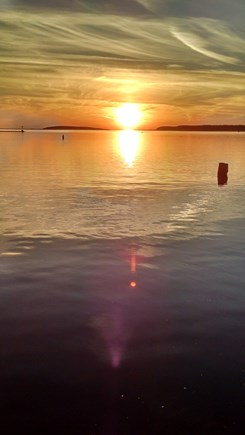 Wellfleet Cape Cod vacation rental - Great Island Sunset