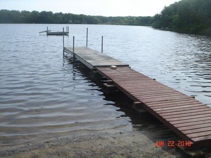 Harwich Cape Cod vacation rental - Dock and float at the beach