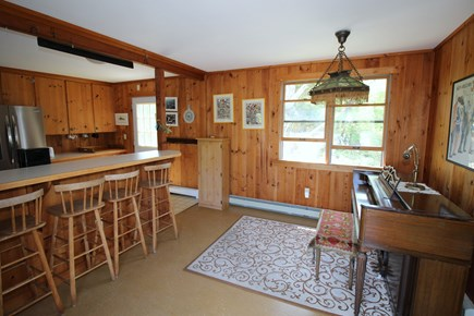 East Dennis Cape Cod vacation rental - Sitting room off kitchen & master