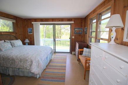 East Dennis Cape Cod vacation rental - Master bedroom (w/private bath)
