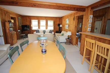 East Dennis Cape Cod vacation rental - Dining towards living