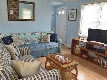 North Eastham Cape Cod vacation rental - Living area to watch tv,dvd's, cable, or just to lounge and read