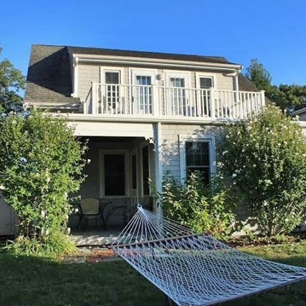 Manomet, Plymouth MA vacation rental - Late summer foliage, Relax! Outdoor shower next to farmer's porch