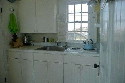 Beach Point, North Truro Cape Cod vacation rental - Kitchen area