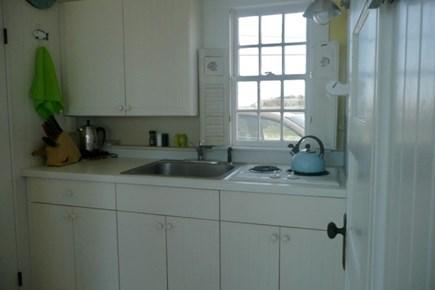 Beach Point, North Truro Cape Cod vacation rental - Kitchen area