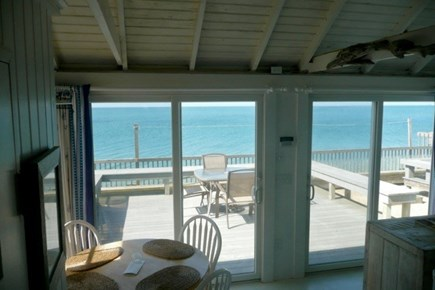Beach Point, North Truro Cape Cod vacation rental - Your exclusive waterside deck