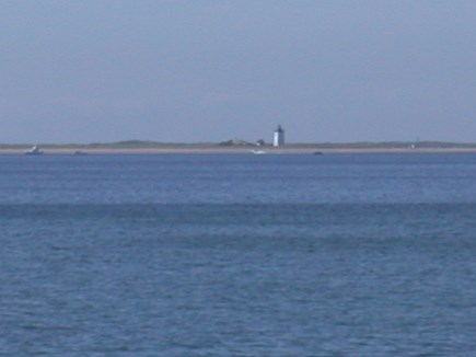 Beach Point, North Truro Cape Cod vacation rental - Only one of two lighthouses you view from our cottage