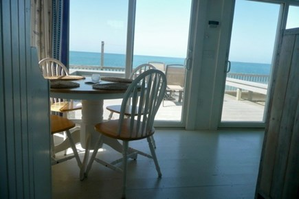 Beach Point, North Truro Cape Cod vacation rental - Dining area