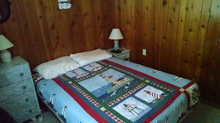 Truro Cape Cod vacation rental - Bedroom #2 - Double bed with smart TV and DVD player