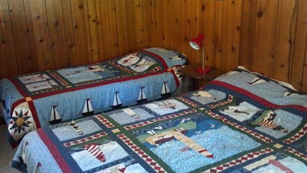 Truro Cape Cod vacation rental - Bedroom #1 - Double bed and twin bed