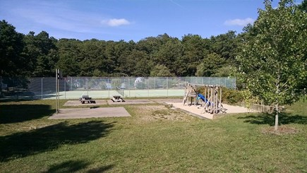 Truro Cape Cod vacation rental - Play area with tennis / pickleball court