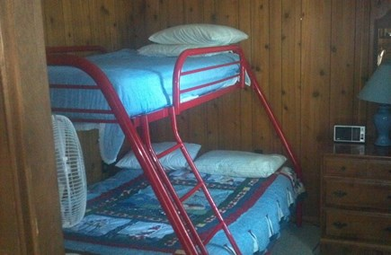 Truro Cape Cod vacation rental - Bedroom #3 - bunk bed - twin over double bed
