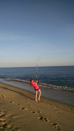 Truro Cape Cod vacation rental - Great fishing off the local beaches!