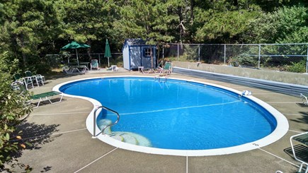 Truro Cape Cod vacation rental - Work on your tan by the pool or take a refreshing swim!