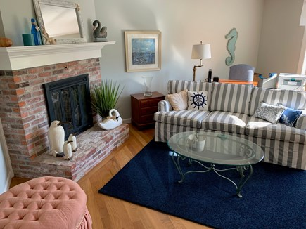Chatham Cape Cod vacation rental - Living room with desk