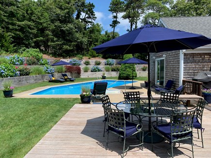 Chatham Cape Cod vacation rental - Pool and deck