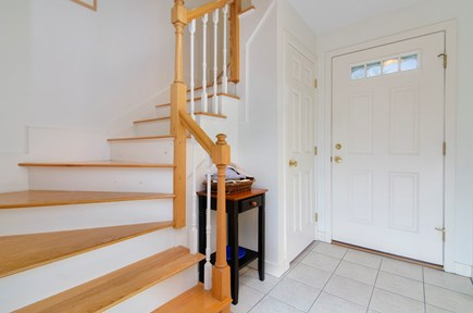 Brewster Cape Cod vacation rental - Front door and staircase