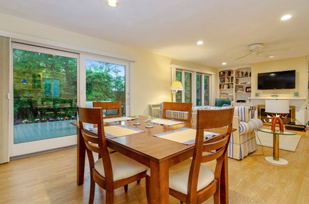 Brewster Cape Cod vacation rental - Dining area and great room