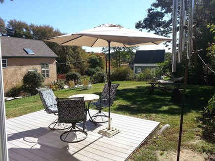 Wellfleet Cape Cod vacation rental - The Back Deck