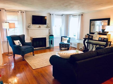 Dennis Port Cape Cod vacation rental - Large Living Room to spend family time