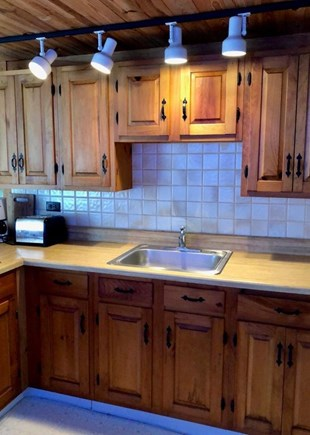 Dennis Port Cape Cod vacation rental - Studio Apt.Kitchen - Great for guest's private living space.