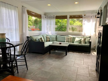 Dennis Port Cape Cod vacation rental - Relaxing Screened-in Porch - View 1
