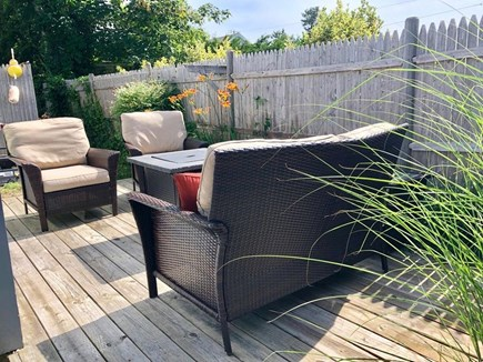 Dennis Port Cape Cod vacation rental - Relax after a fun day at the beach on the Private Backyard patio