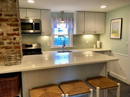 Dennis Port Cape Cod vacation rental - Kitchen with Breakfast Bar