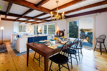 Orleans Cape Cod vacation rental - Main living area with water views