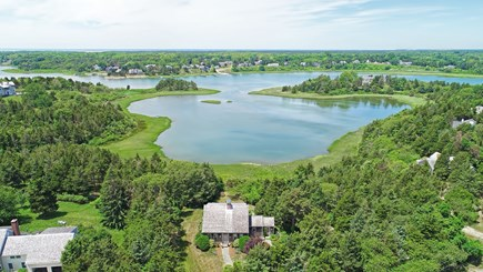 Orleans Cape Cod vacation rental - Gorgeous waterfront setting on Rachel's Cove in East Orleans