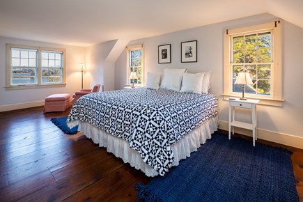 Orleans Cape Cod vacation rental - Second floor king bedroom with private en suite and water views
