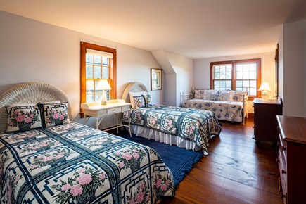 Orleans Cape Cod vacation rental - Upstairs twin room with 2 twins, daybed w/ trundle, en suite