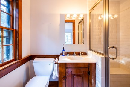 Orleans Cape Cod vacation rental - Queen room en suite with stand up shower