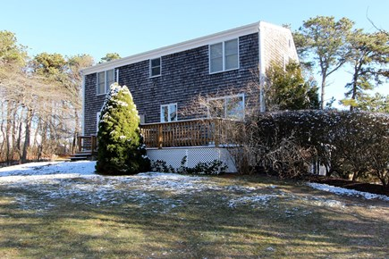 Chatham Cape Cod vacation rental - Exterior Back with deck