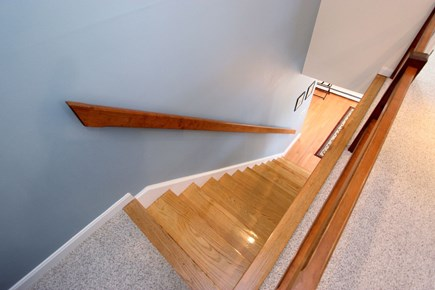 Chatham Cape Cod vacation rental - Hardwood Stairs