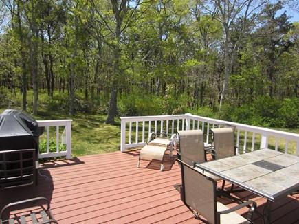 Dennis Cape Cod vacation rental - Deck & yard