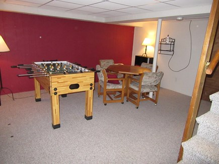 Dennis Cape Cod vacation rental - Lower Level Rec Room